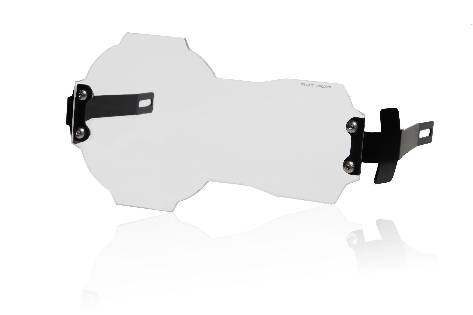 Copricerchi faro Accessori moto acrilico Accessori per R1200GS//R1250GS//ADV LC arancia KIMISS Protezione per faro moto