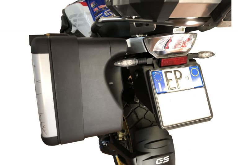 Aluminum color covering pair panniers top in black R 1200/1250 GS ADV LC top in black GSEMOTION SAS