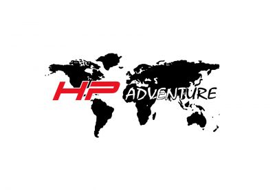 Adesivo planisfero HP ADVENTURE per top case in alluminio MOTADD