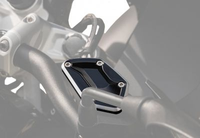 Pair of clutch and brake reservoir covers for R 1200/1250 GS LC/GS ADV LC GSEMOTION SAS