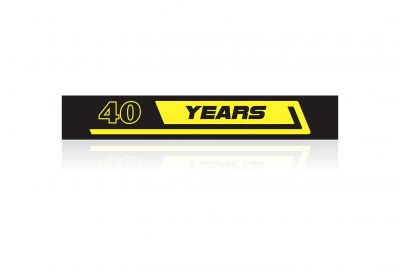 40 YEARS Sticker MOTADD